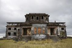 abandoned 1920s resort hotel on Bokor Mountain, Texas by AislingH