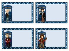 Organize your classroom with these Blank Doctor Who themed classroom labels. Includes 16 blank labels for you to print and write on. Please let me know if you would like a different theme, color, or character!