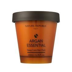 Nature Republic Argan Essential Deep Care Hair Pack *** READ REVIEW @ http://www.101haircaretips.com/store/nature-republic-argan-essential-deep-care-hair-pack-3/?b=8592