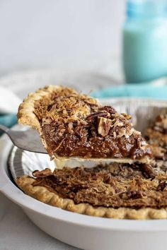 Chocolate Nut Pie Recipe, German Chocolate Pies, Chocolate Fudge, No Bake Desserts, Delicious Desserts, Dessert Recipes, Pastry Recipes, Cooking Recipes, Best Coconut Cake Recipe