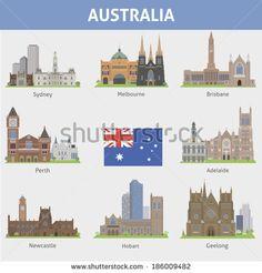 stock-vector-australia-symbols-of-cities-vector-set-186009482.jpg (450×470)