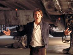 Han Solo. Sexy space captain. Han shot first.