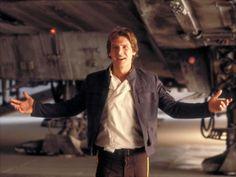 Han Solo. Sexy space captain. Han shot first.