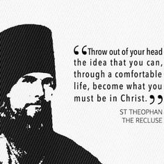 December 2019 ~ Saint of the Week; Theophan the Recluse Christian Prayers, Church Quotes, Saint Quotes, Orthodox Christianity, Verse Of The Day, Catholic, Saints, Religion, Spirituality