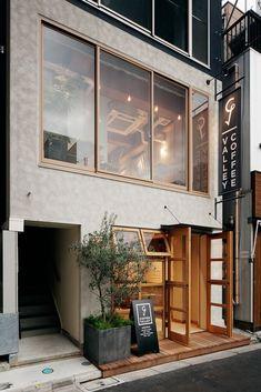 ideas for exterior design store house Cafe Exterior, Interior Exterior, Exterior Design, Cafe Shop Design, Cafe Interior Design, House Design, Cafe Restaurant, Restaurant Design, Bar A Vin