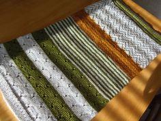 Lankaterapiaa: 3 väriä ja vähän neljättä - 3 Color Cashmere Cowl