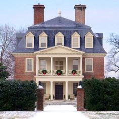Shirley Plantation, Virginia. Oldest plantation and in continuous family ownership since 1613.