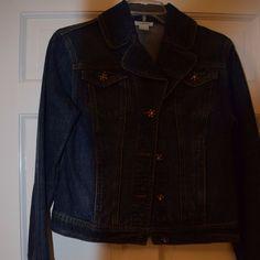 Harold'S Jean Jacket Embellished Buttons