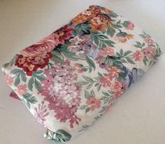Ralph Lauren Allison Floral Twin Bedskirt Dust Ruffle Euc - Bed Skirts