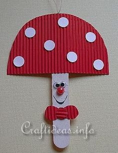 - DIY making ideas - Fall Crafts For Kids Autumn Crafts, Fall Crafts For Kids, Summer Crafts, Art For Kids, Kids Crafts, Craft Projects, Arts And Crafts, Popsicle Stick Crafts, Craft Stick Crafts