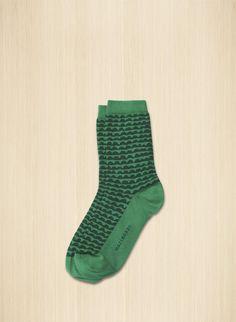 Nilkkasukat ovat puuvillasekoitetta, ja niiden kuosina on Papajo. Marimekko, Textile Design, Fashion Prints, Socks, Textiles, Leggings, Unique, How To Wear, Clothes