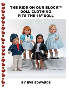 In easy work book form, these outfits are timeless. From the patterns dozen of outfits are possibility. Fits the American Girl doll. Step by Step instructions easy and fun.