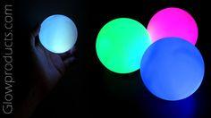 LED Ball - Battery Operated Hand Lamp  http://glowproducts.com/ledcandleproducts/ledlampround/