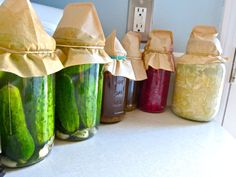 Sauerkraut and other of Seven fantastic fermented foods. LOVE Bonzai Aphrodite's blog!