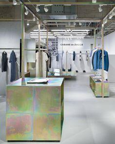 Интерьер магазина CABANE de ZUCCa в Токио