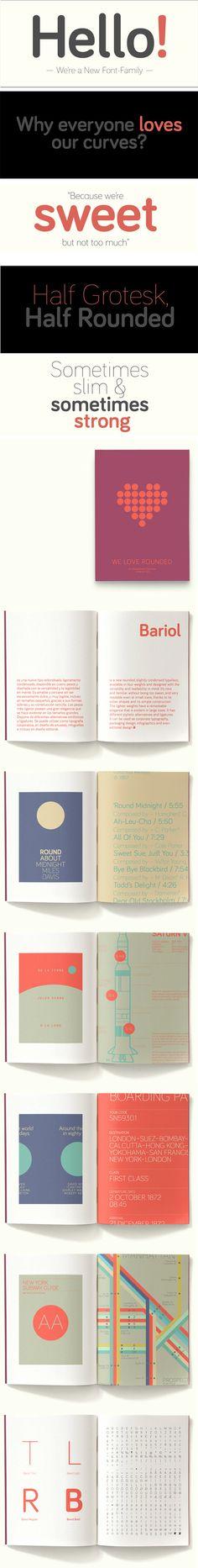 Bariol, une superbe typographie gratuite !