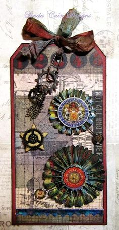 Was looking for examples of using this Tim Holtz die!