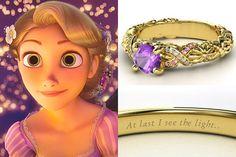 Disney Princess Jewelry, Disney Jewelry, Silver Hoop Earrings, Bridal Earrings, Stud Earrings, Nose Jewelry, Gemstone Jewelry, Rapunzel, Disney Rings
