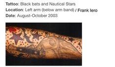 Frank Iero tattoo Perfect Music, Good Music, Emo Bands, Music Bands, Frank Iero Tattoos, Frank Lero, Ray Toro, Say A Prayer, Band Memes