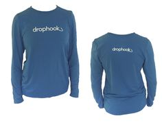 Ladies Long Sleeve Performance Tee. For #fishing or just staying out of the sun. Antimicrobial and sweat wicking. Only $15 shop.drophook.com