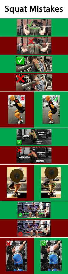 Squat Exercises Mistakes Exercises Mistakes Mistakes at gym Leg Exercises Mistakes muscles pain joints pain Leg Exercises squat squatgym squatworkout beforeaftersquat Source by did you like the photo [Total 0 Average - fitness Mens Fitness, Fitness Tips, Health Fitness, Squat Workout, Gym Workouts, Leg Exercises, Workout Guide, Train Hard, Crossfit