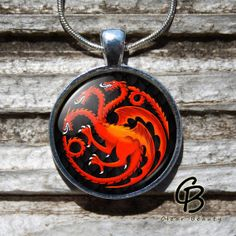 Game of Thrones House of Targaryen   Glass Dome by ClearBeauty, £7.99