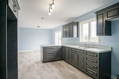 A nice look at the cabinets in this newly finished Patterson design in St. John's!