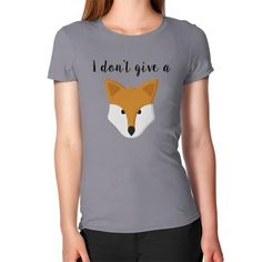 Fox Fitted Tee - Womens $39.99 CAD
