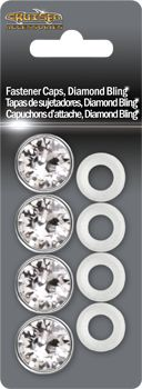 License Plate Frame Fastener Caps, Diamond Bling I have these on my car. I absolutely LOVE THEM!!!
