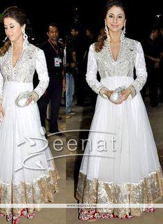 Majesty Ivory White Bollywood Salwar Kameez