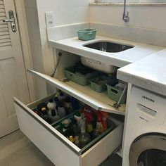 Storage ideas for apartments home decor laundry rooms 41 New ideas Kitchen Room Design, Laundry Room Design, Home Decor Kitchen, Interior Design Living Room, Living Room Designs, Diy Home Decor, Laundry Room Layouts, Laundry Rooms, Bathroom Interior