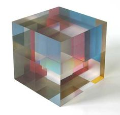 Those who know me and saw my MFA Show know I have a thing about acrylic cubes! love his work. COEN KAAYK