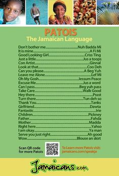 Jamaican Patois is so popular by Jamaica being known for its music, culture, vibe and it being a prime tourist destination.