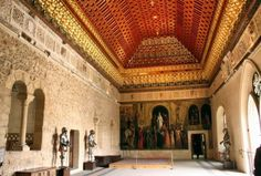 Sala del Trono en el Alcázar de Segovia