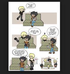 Haha! Poor Magnus!