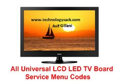 All Universal LCD LED TV Board Service Menu Codes china lcd led tv service menu codes smart lcd led tv service menu codes Tv Panel, Flat Panel Tv, Electronics Basics, Electronics Components, Sony Led Tv, Electronic Technician, Electronic Circuit Projects, Electronic Schematics, Vision Quest