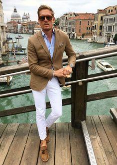 italiensk stil loafers kavaj