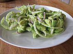 Super Easy Fennel Avocado Salad with a Velvety Dressing