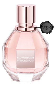 Viktor & Rolf 'Flowerbomb' Eau de Parfum Spray at Nordstrom.com. Full-bodied and opulent. | Notes: bergamot, tea, freesia, jasmine, orange blossom, orchid, rose, patchouli.