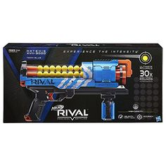 Amazon.com: Nerf Rival Artemis XVII-3000 Blue: Toys & Games