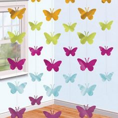 Butterfly String Decorations