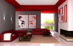 99 Best Black Grey Red Images Frames Canvases Interior Decorating