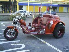Custom VW-1600 Trike