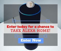 """Enter today for a chance to take Alexa home!  1. Follow our page. 2. Comment """"done"""". 3. Join Now!: www.teelieturner.com  #giveaways"""