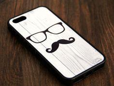 Mustache iPhone 6 Plus iPhone 6 iPhone 5S iPhone 5C iPhone 5 iPhone 4S/4 Rubber Case