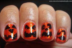 Sincerely Stephanie's jack-o-lanterns!