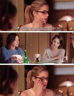 Arrow - Felicity & Thea #3.21 #Season3