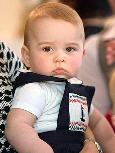 The Many Faces of Prince George | THE 'YOU LOOKIN' AT ME?' FACE | Yes, I'm a prince. What's it to you?