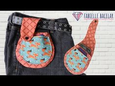 Easy Sewing Projects, Sewing Projects For Beginners, Mini Pochette, Diy Crafts Hacks, Leather Belt Bag, Mothers Day Presents, Hip Bag, Sewing Rooms, Kids Bags