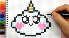 Checkered Drawings To Print And Draw, pixel art, game art Source by criandocomapego Sharpie Drawings, Art Drawings, Pixel Art Animals, Draw Animals, Sharpie Zeichnungen, Disney Kawaii, Pixel Drawing, Pix Art, Minecraft Pixel Art